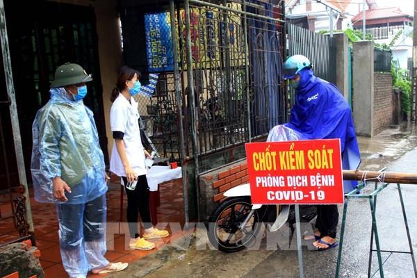 Thái Bình phong tỏa một cụm dân cư có liên quan đến bệnh nhân số 714