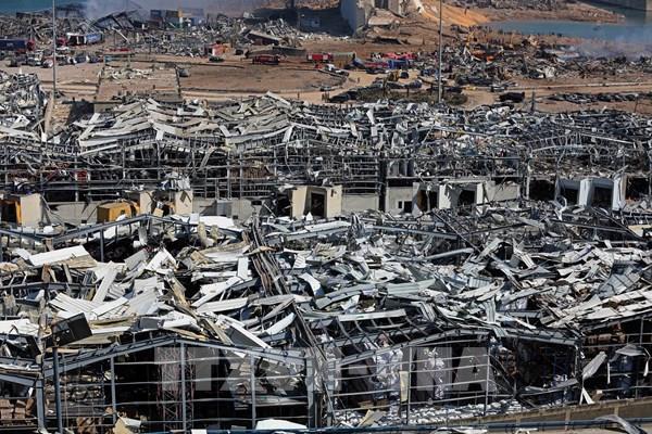 Vụ nổ tại Beirut gây thiệt hại cho Liban hơn 15 tỷ USD