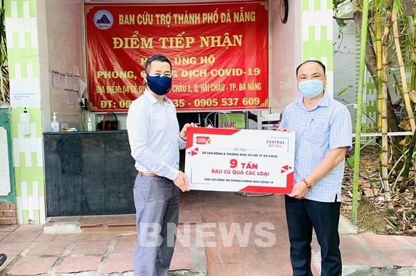Central Retail tiếp tục ủng hộ Đà Nẵng 10 tấn thực phẩm