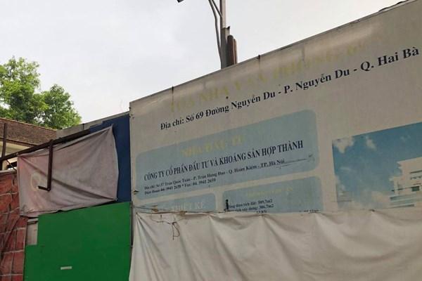 Kết luận thanh tra về khu đất 69 Nguyễn Du liên quan đến Tổng Công ty PVC Hà Nội