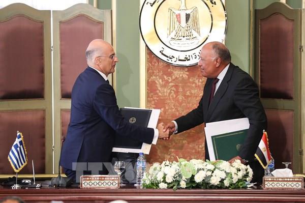 Ai Cập và Hy Lạp ký thỏa thuận về khu vực đặc quyền kinh tế