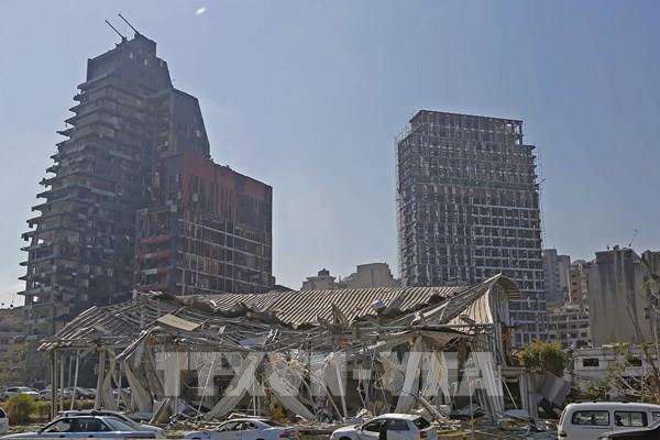 Vụ nổ ở Beirut: Liban bắt giữ 16 người để điều tra