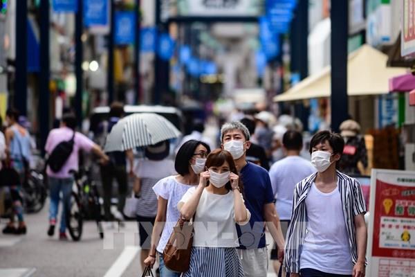 Số ca mới mắc COVID-19 tại Nhật Bản cao nhất trong một ngày