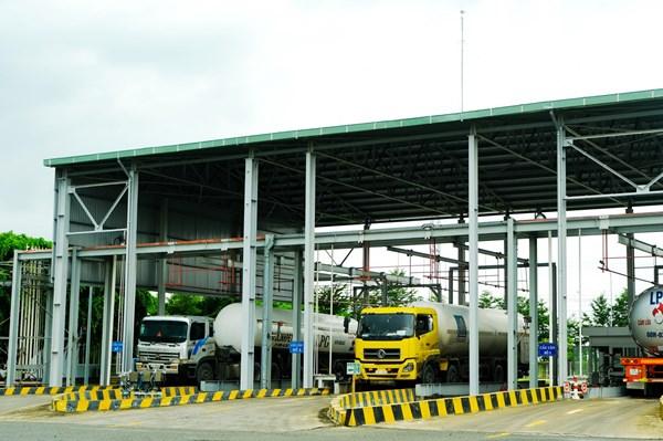 Lập kỷ lục xuất hàng mới tại Trạm nạp gas Thị Vải