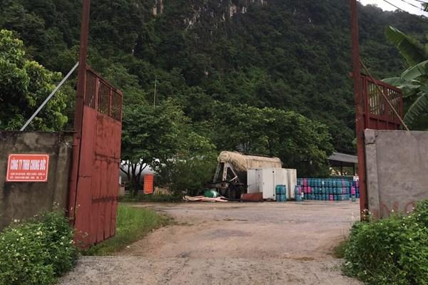 Sơn La xử phạt 120 triệu đồng một cơ sở vi phạm kinh doanh LPG