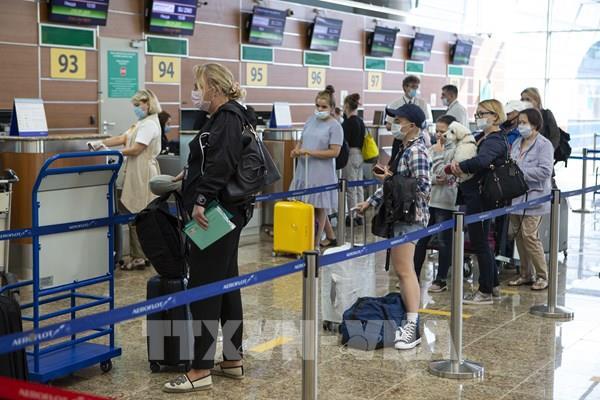 Nga xét nghiệm nhanh COVID-19 tại tất cả các sân bay lớn ở Moskva
