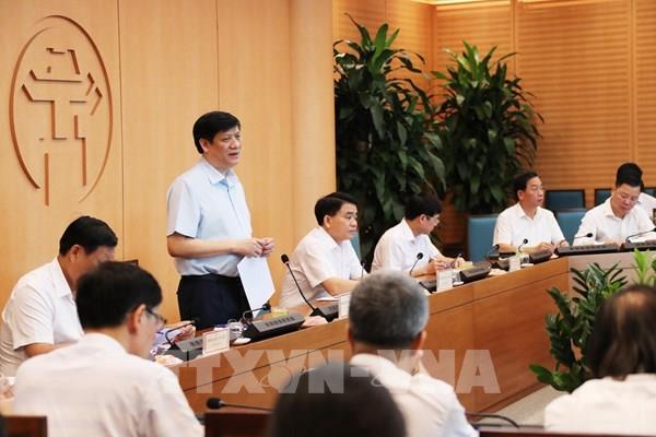 Dịch COVID-19: 4 bệnh viện Trung ương sẽ hỗ trợ xét nghiệm PCR 70.000 mẫu cho Hà Nội