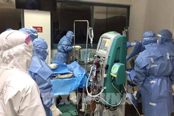 Bệnh viện Trung ương Huế tiếp nhận và phân luồng bệnh nhân