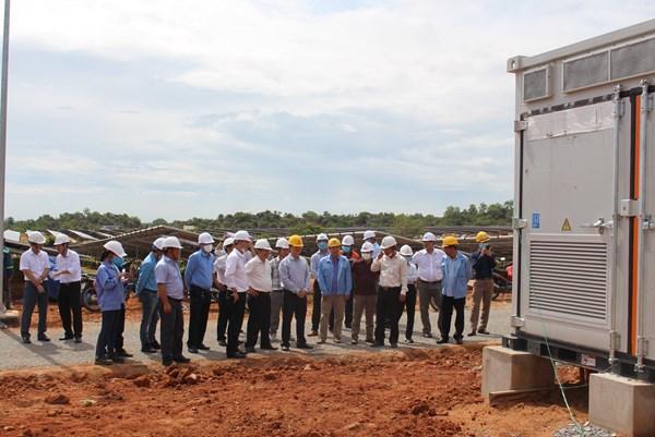 Nghiệm thu đưa vào sử dụng Công trình Nhà máy điện mặt trời Phước Thái 1