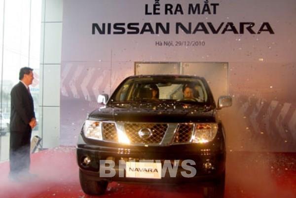 Triệu hồi gần 2.500 xe bán tải Nissan Navara tại Việt Nam