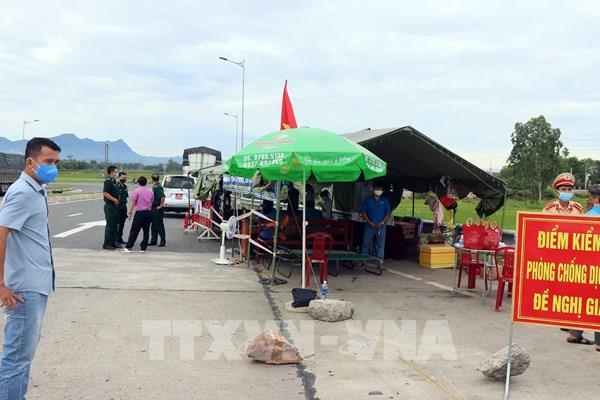 Quảng Nam phong tỏa, phun thuốc khử trùng một số khu vực