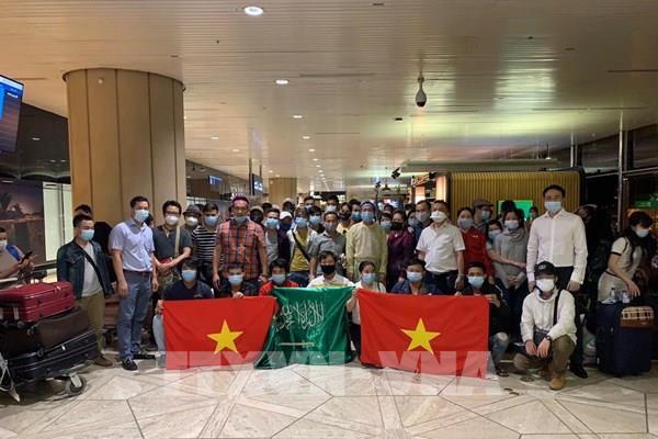 Đưa hơn 270công dân Việt Nam từCộng hòa Cyprus và Saudi Arabia về nước