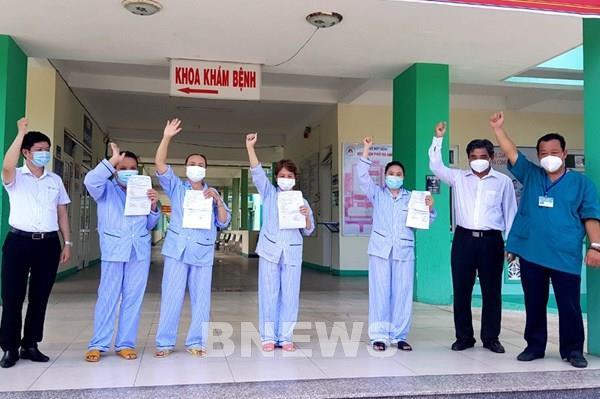 4 bệnh nhân COVID-19 tại Đà Nẵng được chữa khỏi và xuất viện