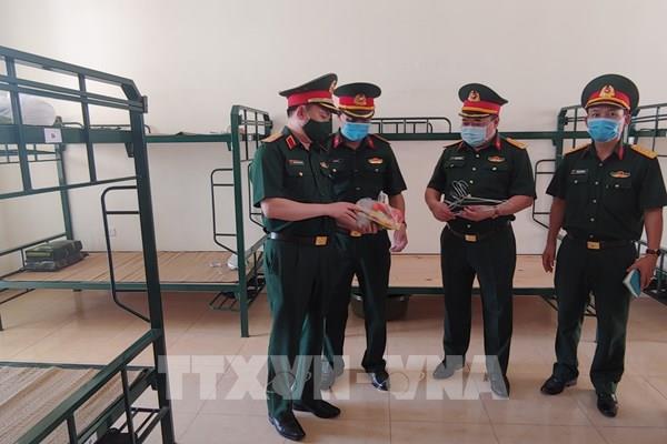 Bộ Tư lệnh Thủ đô Hà Nội sẵn sàng tiếp nhận cách ly công dân về từ Đà Nẵng