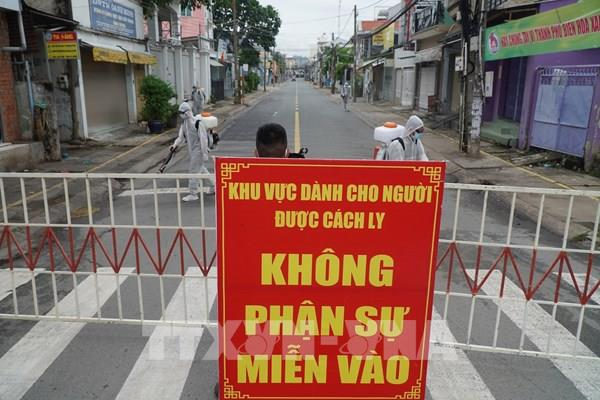 Hải Dương: Thực hiện dãn cách xã hội tại thôn Tuyển Cử, xã Tân Hồng, huyện Bình Giang