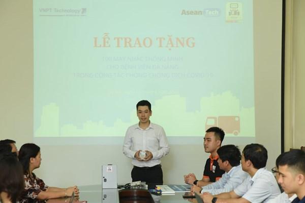 VNPT Technology tài trợ sản xuất máy nhắc thông minh cho bệnh viện Đà Nẵng