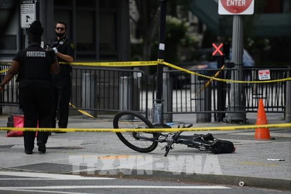 Mỹ: Nổ súng ngay bên ngoài Nhà Trắng khi Tổng thống Trump đang họp báo