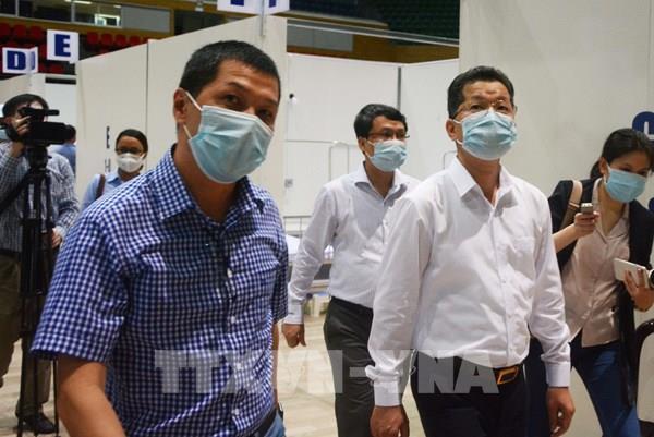 Bệnh viện dã chiến Cung thể thao Tiên Sơn (Đà Nẵng) khi nào sẽ được vận hành?