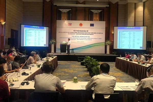 Đánh giá môi trường chiến lược trong quy hoạch phát triển điện lực quốc gia