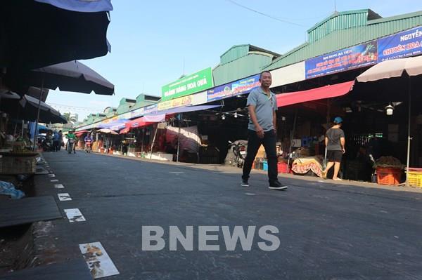 Đổi thay ở chợ đầu mối lớn nhất Thủ đô