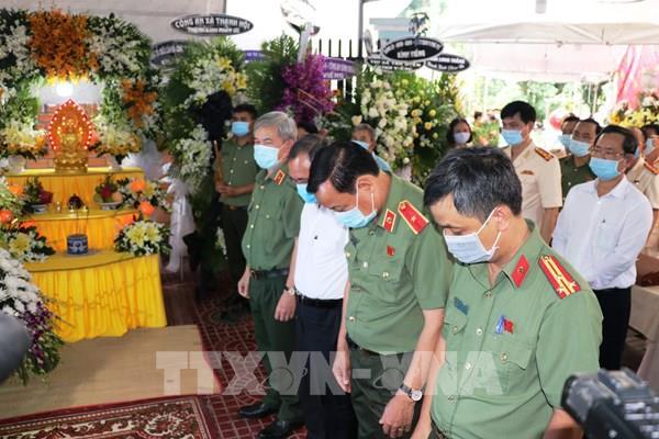 Bộ Công an chỉ đạo làm rõ vụ phó trưởng công an xã hy sinh lúc làm nhiệm vụ