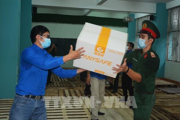 Đà Nẵng: Tiếp nhận 80 tấn vật tư hàng hóa phòng, chống dịch COVID-19