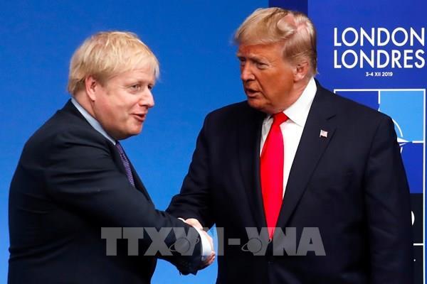 Đàm phán thương mại Anh  - Mỹ khả quan