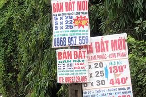 Xử lý tình trạng rao bán đất nền trái phép trên mạng xã hội ở Đồng Nai