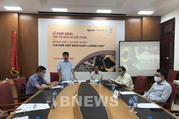 """Phát động cuộc thi biểu trưng Nhãn hiệu chứng nhận """"Cà phê Việt Nam chất lượng cao"""""""