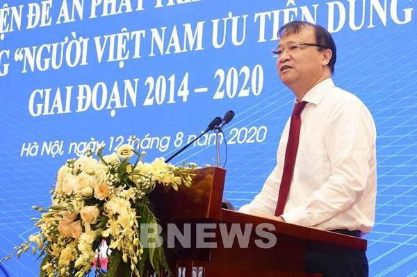 """Hàng Việt """"chiếm lĩnh"""" tại các hệ thống phân phối lớn"""