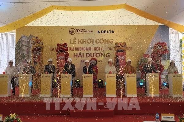 Khởi công xây dựng trung tâm thương mại hiện đại nhất tỉnh Hải Dương