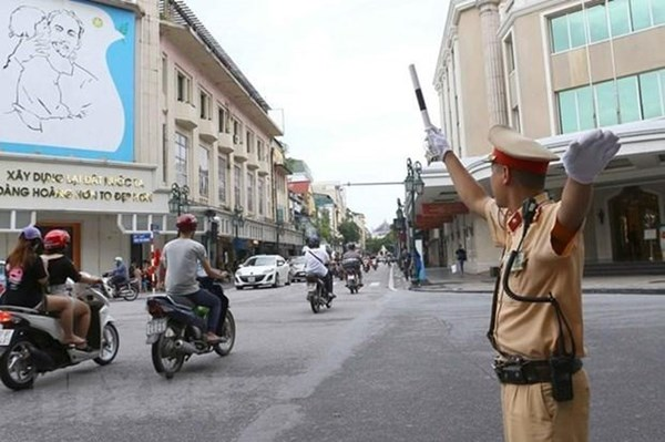 Các tuyến đường cấm phục vụ Lễ Quốc tang nguyên Tổng Bí thư Lê Khả Phiêu