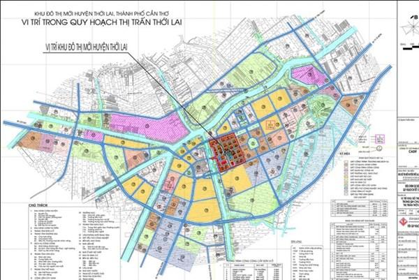 Cần Thơ sẽ thanh tra dự án Khu đô thị mới huyện Thới Lai