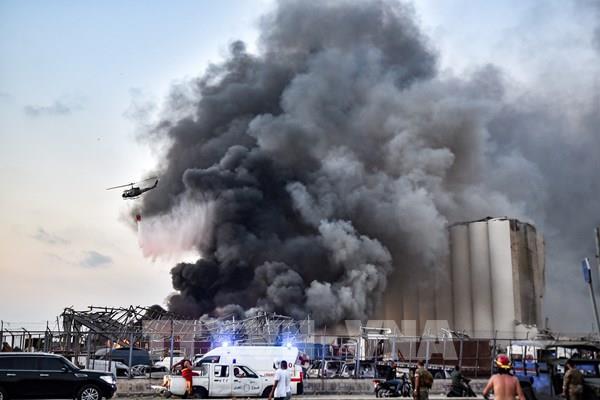 """Vụ nổ Beirut - """"Giọt nước tràn ly"""""""