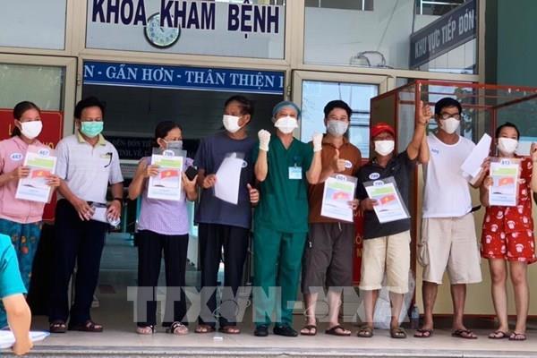 Dịch COVID-19: Thêm 10 bệnh nhân mắc COVID-19 ở Đà Nẵng xuất viện  