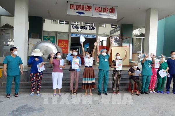 Đà Nẵng thêm 7 bệnh nhân mắc COVID-19 xuất viện  