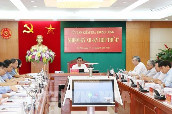 Kỳ họp 47 Ủy ban Kiểm tra Trung ương: Kỷ luật Cảnh cáo hai Trung tướng Quân đoàn 4