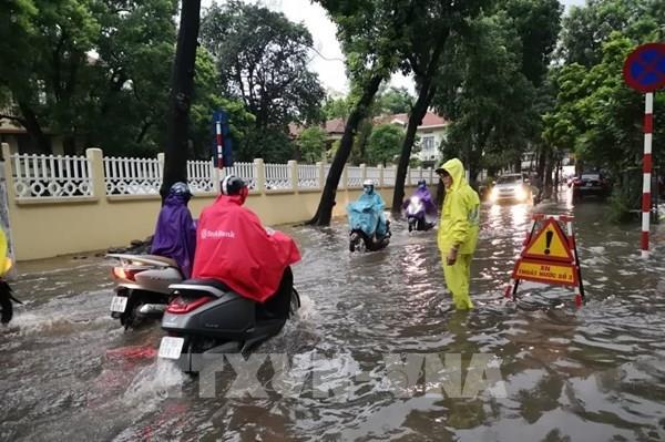 Dự báo thời tiết 2 ngày tới: Các tỉnh Bắc Bộ có mưa vừa, có nơi mưa to