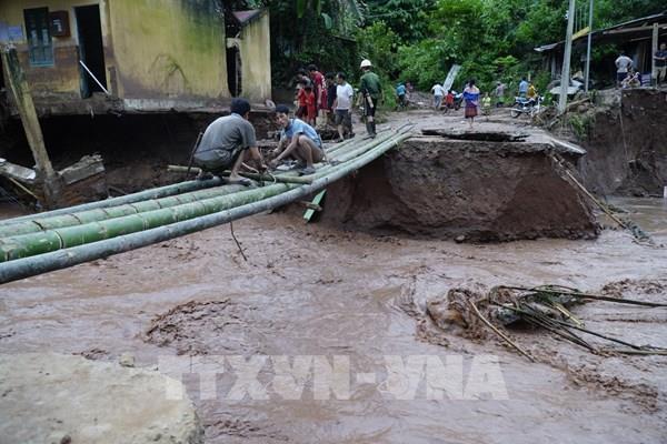 Mưa lũ gây thiệt hại nặng nề tại huyện Nậm Pồ (Điện Biên)