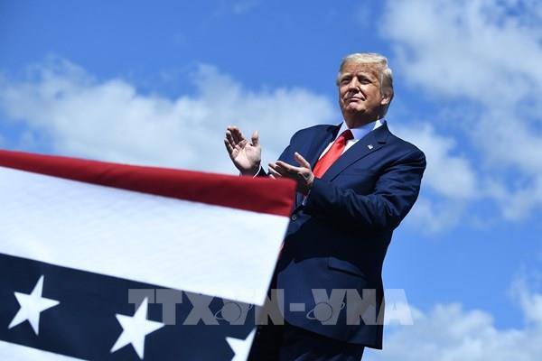 Bầu cử Mỹ 2020: Tổng thống Mỹ cam kết tạo thêm 10 triệu việc làm trong 10 tháng