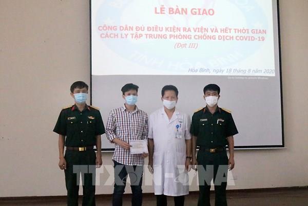 Dịch COVID-19: Bệnh nhân thứ 6 điều trị tại Hòa Bình được công bố khỏi bệnh