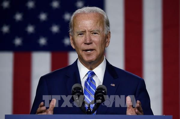 Ông Joe Biden chính thức đại diện đảng Dân chủ tranh cử Tổng thống Mỹ