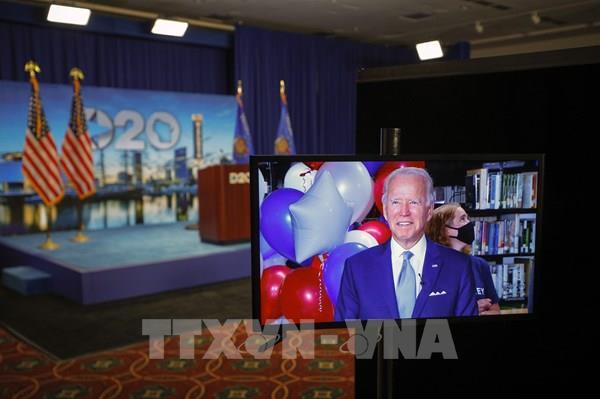 Bầu cử Mỹ 2020: Đảng Dân chủ nêu bật lợi thế của ứng viên Joe Biden