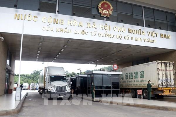 Ưu tiên xuất khẩu nông sản qua cửa khẩu Lào Cai
