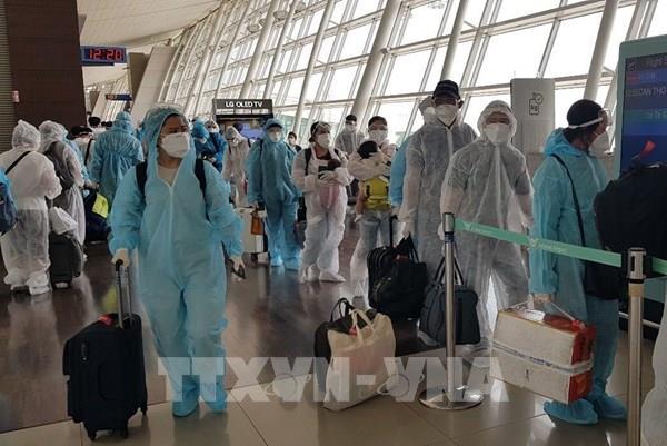 Đưa hơn 290 công dân Việt Nam từ Đài Loan (Trung Quốc) về nước