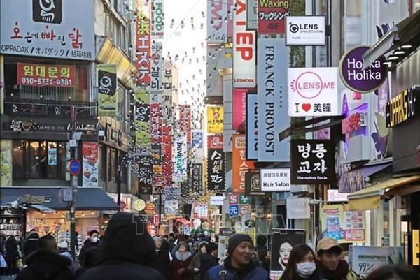 BoK một lần nữa hạ dự báo tăng trưởng kinh tế Hàn Quốc