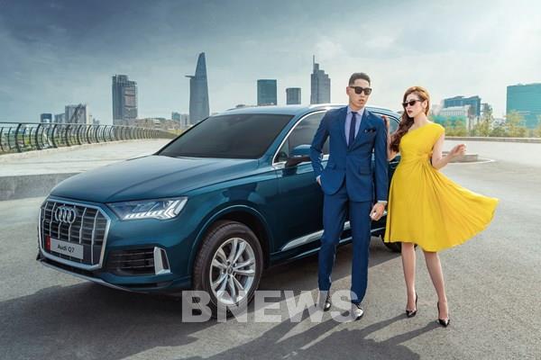 Q7 2020 nổi bật trong bộ ảnh cùng đại sứ Audi - Á hậu Dương Tú Anh