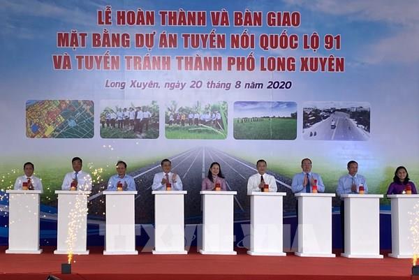 Hơn 2.100 tỷ đồng xây dựng tuyến nối Quốc lộ 91 và tuyến tránh thành phố Long Xuyên