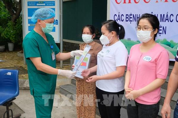 Đà Nẵng thêm 10 bệnh nhân mắc COVID-19 được xuất viện