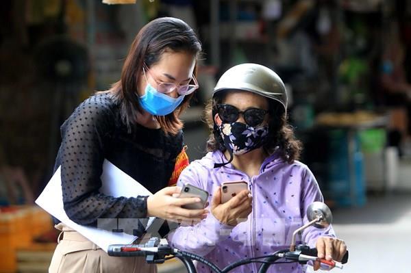 Ứng dụng Khẩu trang y tế Bluezone vượt mốc 20 triệu lượt tải